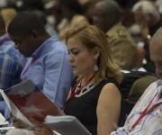 Delegados al Congreso del PCC debaten en Comisiones. Comisión sobre el trabajo del Partido en el cumplimiento de los objetivos aprobados en la Primera Conferencia Nacional. Foto: Ismael Francisco/ Cubadebate.