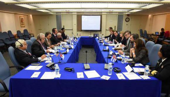 Autoridades de Cuba y EEUU dialogaron sobre sistemas de salud durante los días 28 de marzo y 1ro de abril. Foto: Cubaminrex.