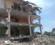 Rafael Correa presentó un plan de viviendas para las familias damnificadas por el terremoto del 16 de abril. Foto: Archivo.