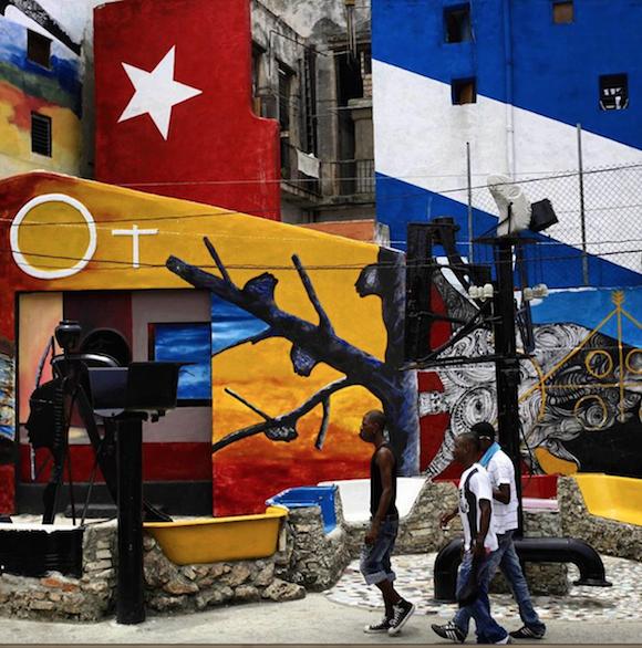 El Callejón de Hamel en La Habana. Foto: Desmond Boylan/ Instagram