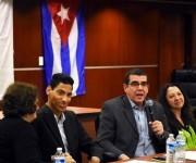 Embajador Cubano José Ramón Cabañas habla en la Escuela de Leyes de UDC.