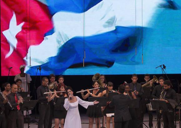 Gala dedicada a Girón y al VII Congreso del Partido. Foto: Ismael Francisco/ Cubadebate
