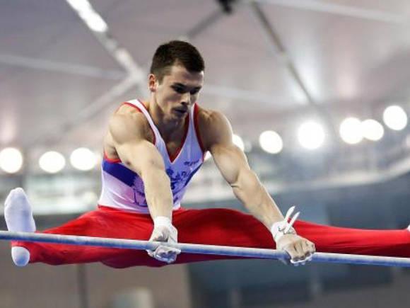 El gimnasta Nikolai Kuksenkov, campeón de Europa, también dio positivo por meldonium. Foto: AFP.