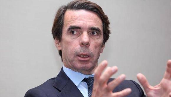Expresidente del gobierno español, José María Aznar. Foto: Archivo.