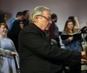 José María Vitier en Otterbein. Foto: Brooke LaValley/  Dispatch