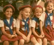 Niños en la guardería montonera en La Habana, Cuba (c.1980)