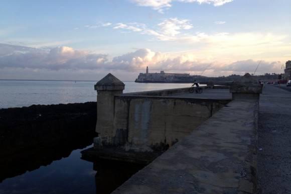 El Malecón de La Habana. Foto: Lela Moore/ The New York Times