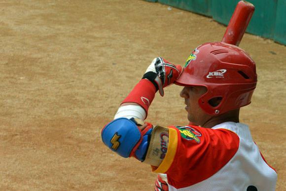 Manduley fue clave en el desempeño de Matanzas. Foto: Katheryn Felipe / Cubadebate