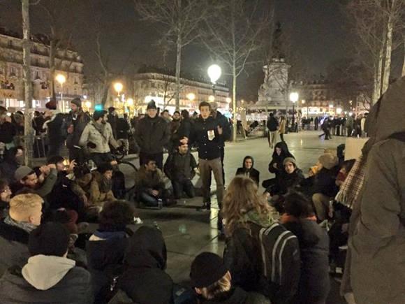 Se espera continúen las manifestaciones de los indignados en París. Foto: TelesurTV.