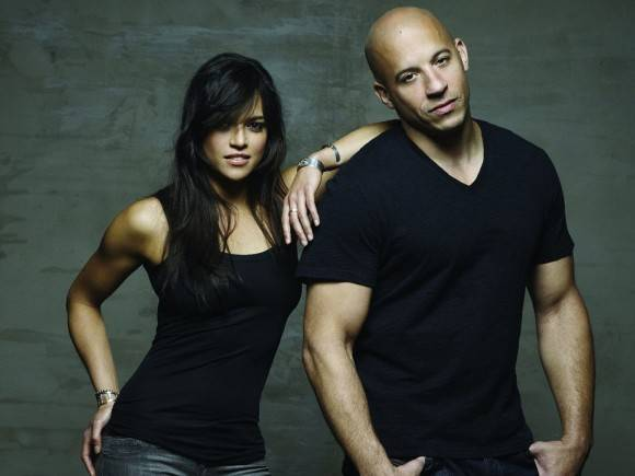 """Michelle Rodríguez y Vin Diesel ya están en Cuba, para el rodaje de """"Rápido y Furioso 8""""."""