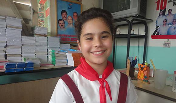 Milenys Fernández Montelongo, pionera cubana con más de 20 premios por su trayectoria estudiantil. Foto: Guerrillero.