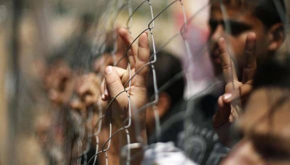 Niños palestinos en Israel. Foto: Reuters.