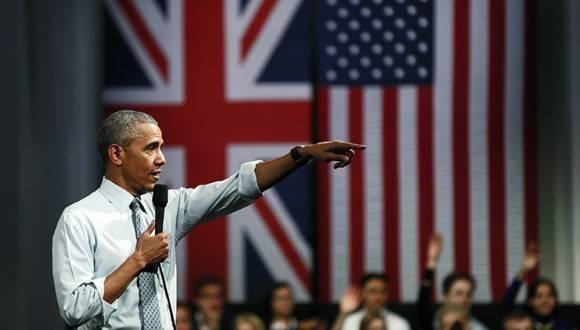 El presidente de Estados Unidos, Barack Obama, durante una reunión en Londres. Foto: Reuters.