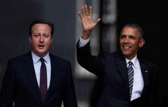 El presidente de Estados Unidos, Barack Obama, realiza una visita oficial a Londres. Foto: Reuters.