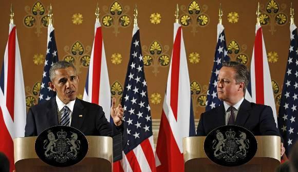 Obama pide a los británicos mantenerse dentro de la Unión Europea. Foto: Reuters.