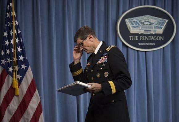 El general Joseph Votel, jefe del Comando Central de las Fuerzas Armadas estadunidenses, descartó que el bombardeo contra un hospital en Kunduz haya sido crimen de guerra. Foto: AP