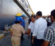 Presidente de Perú, Ollanta Humalla, entrega ayuda humanitaria al presidente Correa. Foto: Expreso.