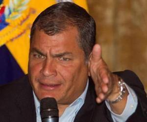 Rafael Correa. Foto: EFE.