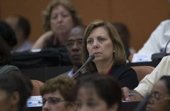 Josefina Vidal, directora general de Estados Unidos  en la Cancillería cubana. Foto: Ismael Francisco/ Cubadebate
