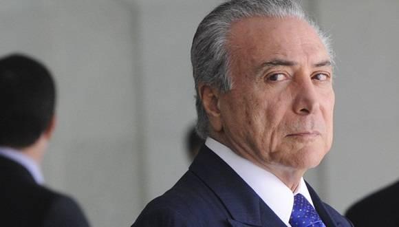 Michel Temer asumirá el puesto de Dilma. Foto: Archivo.