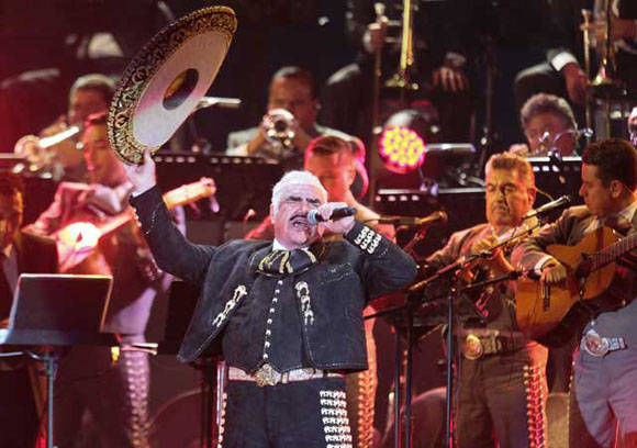 El mexicano Vicente Fernández, se retira de los escenarios/ Foto: Notimex.