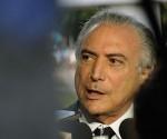 El vicepresidente Michel Temer ha encabezado el complot contra Dilma. Foto: AFP