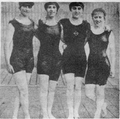 Campeonas inglesas de la natación (1912)