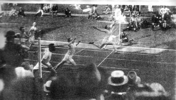 Los norteamericanos dominaron las pruebas de velocidad en Amberes 1920. Foto: Cortesía del autor.