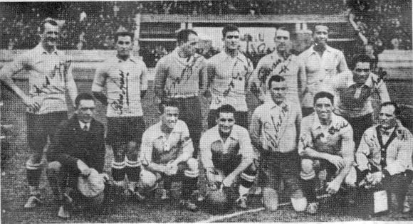 Uruguay, campeón de fútbol en París 1924