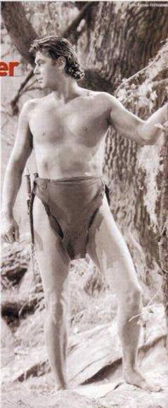Weissmüller, como Tarzán El hombre mono