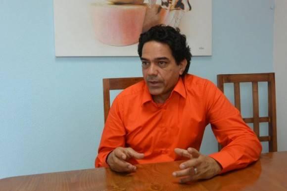 Ariel Balmaseda, presidente de la Cooperativa Decorarte. Foto: Cortesía de Katheryn Felipe