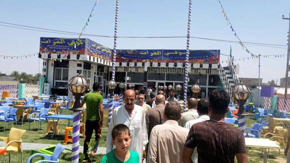 Un atentado en una peña madridista en la ciudad de Samarra dejó 16 muertos. Foto: Reuters.