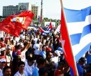 Banderas. Foto: José Raúl Concepción/ Cubadebate.