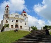 Iglesia de la Virgen de la Caridad en Nuevitas, Camaguey.