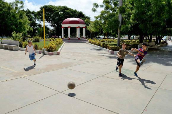 Glorieta en el parque del Cañon en Nuevitas, Camaguey.