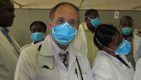 Colaboración médica en Namibia. Foto: Archivo