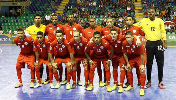 Cuba enfrenta a Panamá en semifinales del premundial de Fútbol sala