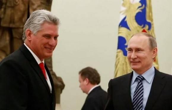 Díaz Canel y Putin