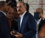 Danilo Medina, el actual presidente, encabeza el conteo. Foto Getty