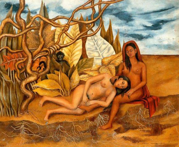 """El cuadro """"Dos desnudos en el bosque"""" fue vendido en ocho millones de USD."""