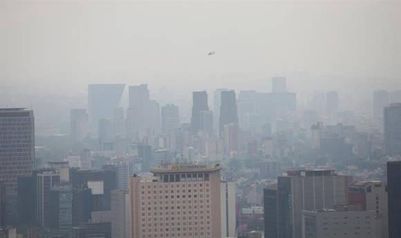 El Valle de México vive cuarto día de contingencia ambiental. Foto: EFE.