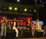 Haila mostró nuevamente sus cualidades vocales. Concierto Homenaje a los 60 años del Charangón de Revé. Foto.Marianela Dufflar.