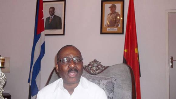 José César Augusto, embajador de Angola en Cuba. Foto: Tomada de www.opciones.cu (Archivo)