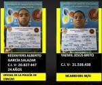 Estos son los principales responsables del asesinato del General Bolivariano, Félix Antonio Velásquez.