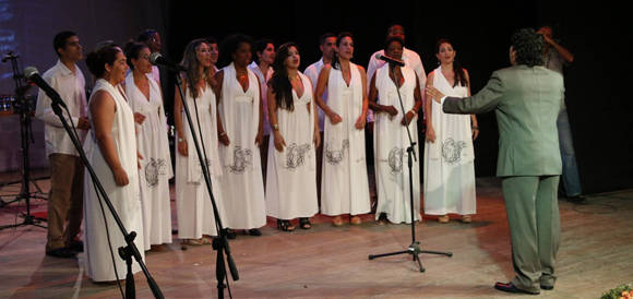 El grupo Corávila también amenizó la Gala. Foto: Roberto Morejón/ Jit.