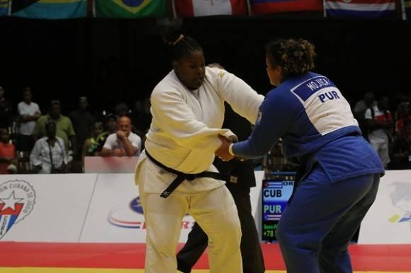 Idalis Ortiz, médaille d'or au championnat panaméricain de Judo