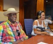 """. Ventura comentó en """"El Exitazo"""" que el motivo de su visita, será recibir el Premio Especial Cubadisco 2016, por el fonograma,""""Tronco Viejo"""". Foto: Marianela Dufflar / Cubadebate"""