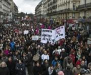 Miles de franceses contra la reforma laboral. Foto tomada de La Izquierda Diario.
