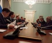Medvedev señala que perspectiva de las relaciones entre Rusia y Cuba son muy buenas. Foto: Cuenta en Twitter de Rogelio Sierra, Viceministro de Relaciones Exteriores de Cuba
