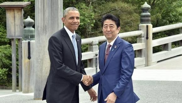 Obama en Hiroshima, Japón . Foto: EFE